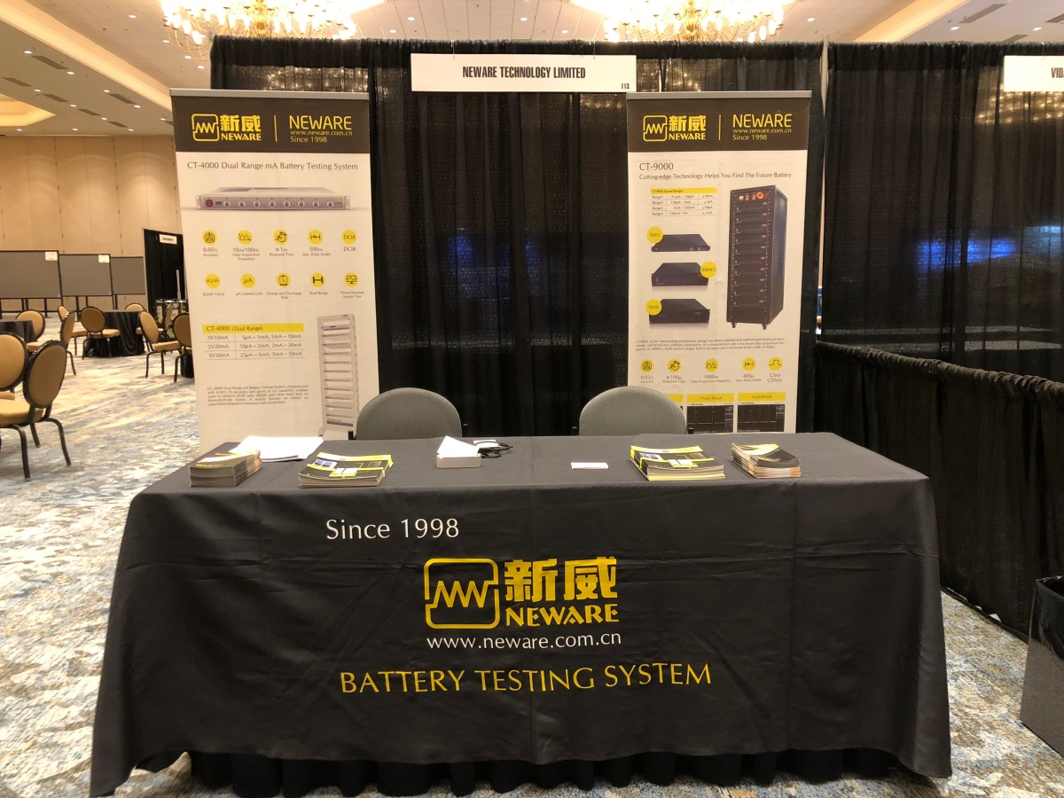 Neware On 235th Ecs Meeting Neware Battery Testers